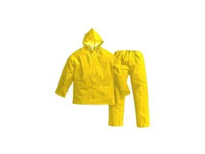Calça e Camisa PVC c/forro Amarelo